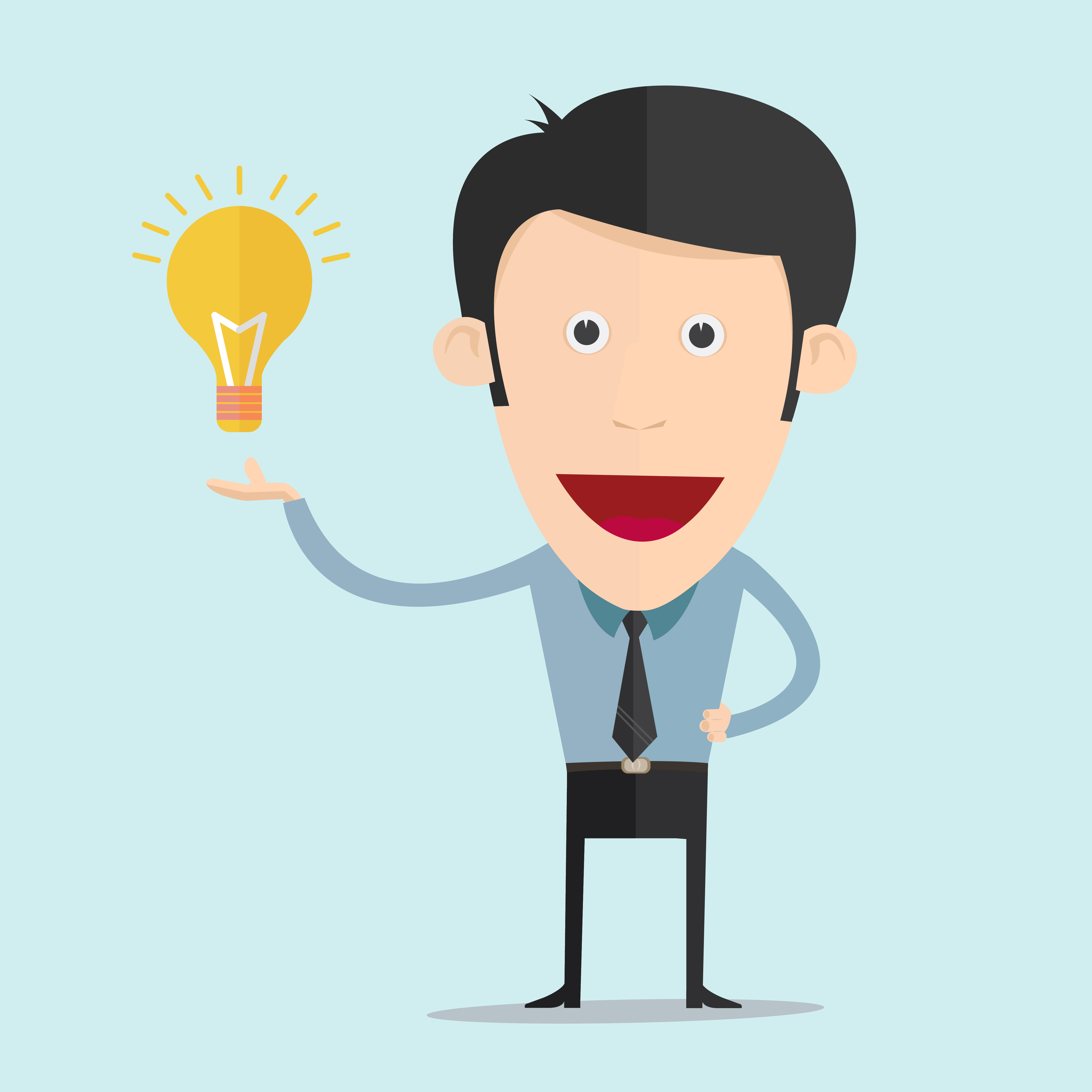 cartoon-image-customer-with-an-idea